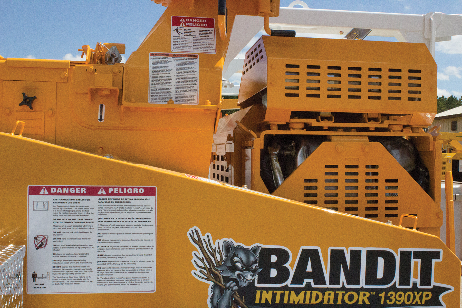 Numerous decals located on the machine that contain important information to assist in operating your equipment safely.